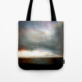 Dusk over Sandymount Strand Dublin Tote Bag