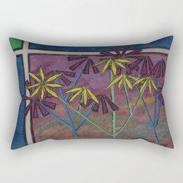 Kokum Flowers #17 Rectangular Pillow
