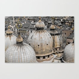 From the bird's view  Canvas Print