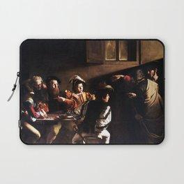 Caravaggio The Calling of Saint Matthew Laptop Sleeve