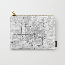 Minimal City Maps - Map Of Rochester, New York, Untited States Carry-All Pouch