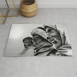 FRIENDSHIP quote Rug