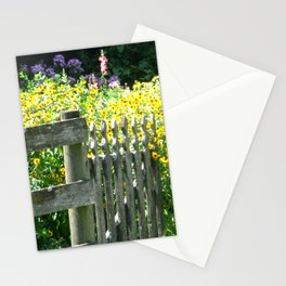 Quaint Country Gate Stationery Cards