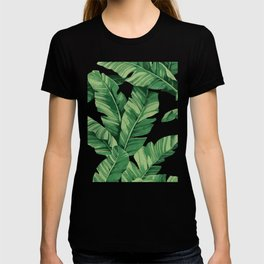 Tropical banana leaves II T-shirt