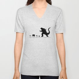 Animals of the World Unisex V-Neck