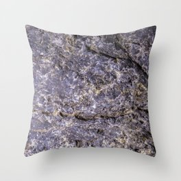 Lava Stone Texture Throw Pillow