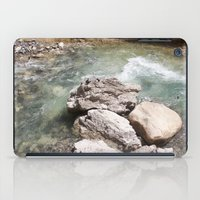 allyson johnson iPad Cases featuring Johnson Canyon rocks by RMK Photography