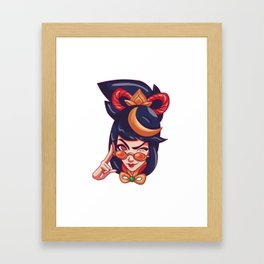 Firecracker Vayne Framed Art Print