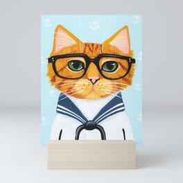 Little Sailor Mini Art Print