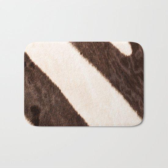 Africa - Zebra - stripes - #society6 #buyart Bath Mat