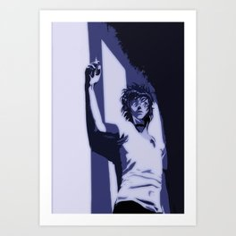 Sin in the dark Art Print