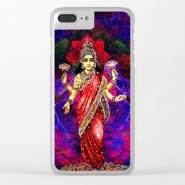 lakshmi1 Clear iPhone Case