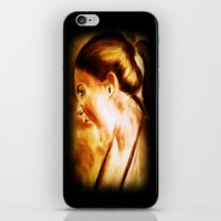 scream iPhone & iPod Skins featuring scream by Gaetano Pergamo Art & Design
