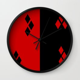 Harley Quinn Minimalist Wall Clock