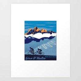 giro d italia Art Print