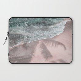Pink Paradise Beach Laptop Sleeve