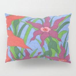 Boho Garden Blues Pillow Sham