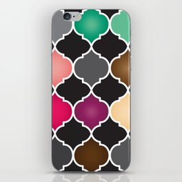 Morocco Pallet iPhone Skin
