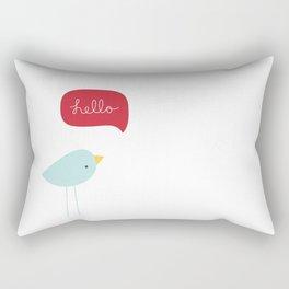 Hello Birdie Rectangular Pillow