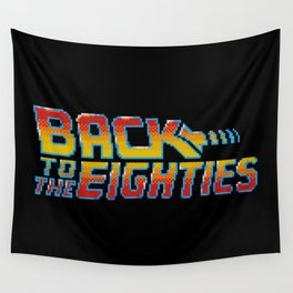 Back To The Eighties Wall Tapestry