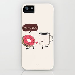 Marry Me iPhone Case