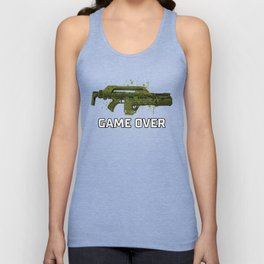 Game Over Unisex Tank Top