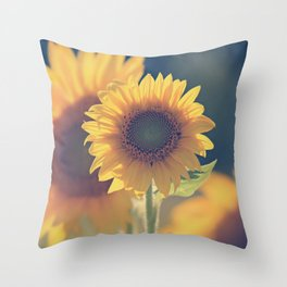 Sunflower 02 Throw Pillow