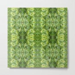 157 - spring plants design Metal Print