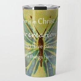 2 Corinthians 5:17 Travel Mug
