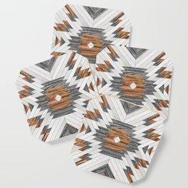 Urban Tribal Pattern No.8 - Aztec - Wood Coaster
