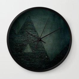 Black square comp. Wall Clock