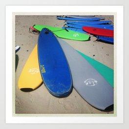 surf class Art Print