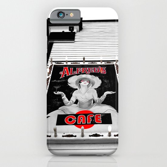 Classic cafe sign iPhone & iPod Case