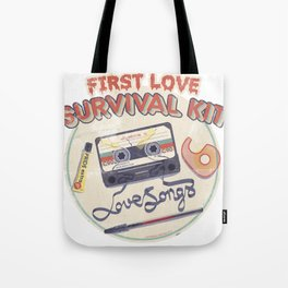 First Love Survival Kit Tote Bag