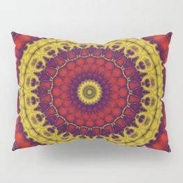 Mandala Fractal in Indian Summer 01 Pillow Sham