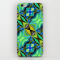 Colorful geometric abstract 14 iPhone Skin