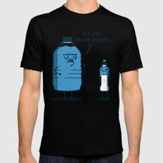 Water Weight Black Mens Fitted Tee MEDIUM