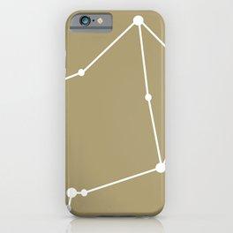 Libra (White & Sand) iPhone Case