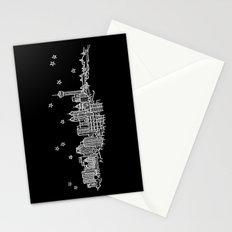 San Antonio, Texas City Skyline Stationery Cards
