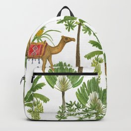 Camels and palms Backpack
