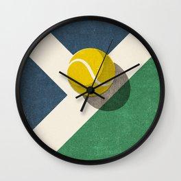 BALLS / Tennis (Hard Court) Wall Clock