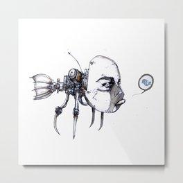 idiotfish Metal Print