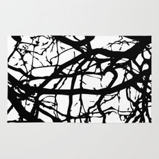 black branches Rug