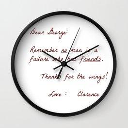 Dear George Wall Clock