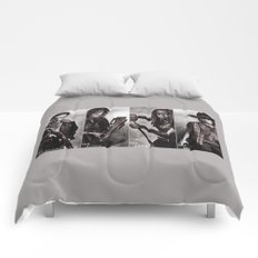 The Walking Dead - Rick Daryl Michonne Carl  Comforters