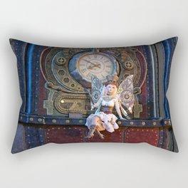 Keeper of Time Rectangular Pillow