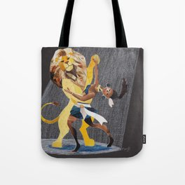 The Lion Tamer Tote Bag
