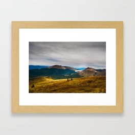 Mountinene Framed Art Print