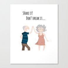 Shake it! Canvas Print