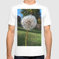 Dandelion Mens Fitted Tee MEDIUM White